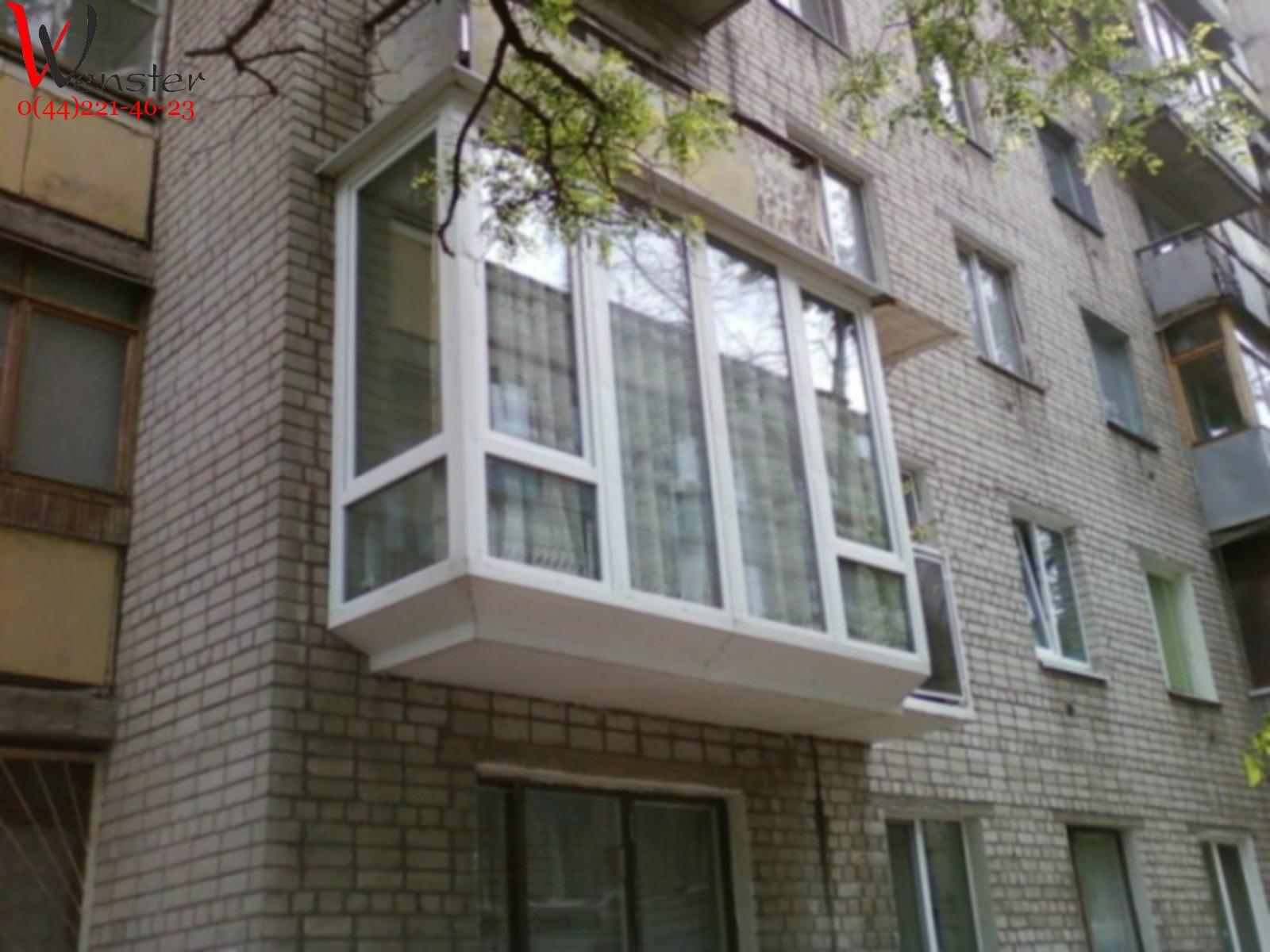 Французский балкон пол..