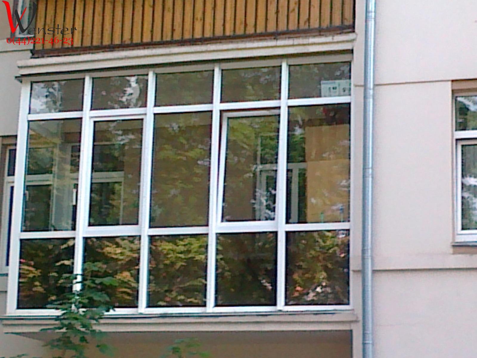 Галерея окна и балконы от wenster - строим дом.